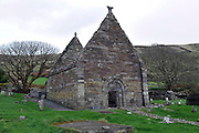 Kilmalkeadar Church associated with St. Brendan in Dingle, County Kerry.<br /> Picture by Don MacMonagle