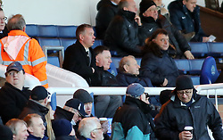 Peterborough United Manager, Darren Ferguson in the stands during the second half after being sent-off from the touchline - Photo mandatory by-line: Joe Dent/JMP - Mobile: 07966 386802 - 10/01/2015 - SPORT - Football - Peterborough - ABAX Stadium - Peterborough United v Colchester United - Sky Bet League One