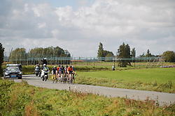 The break of the day at the 2020 Gent Wevelgem - Elite Women, a 141.4 km road race from Ieper to Wevelgem, Belgium on October 11, 2020. Photo by Sean Robinson/velofocus.com