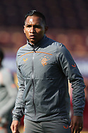 Alfredo Morelos (Rangers) during the Scottish Premiership match between Motherwell and Rangers at Fir Park, Motherwell, Scotland on 27 September 2020.