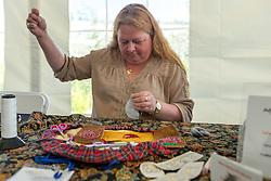Adaka Cultural Festival 2016, Whitehorse, Yukon, Canada, Yukon First Nation Culture and Tourism Association, Kwanlin Dun Cultural Centre, Lena White