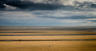 Camber Sands, Camber, East Sussex, Britain - Apr 2014.