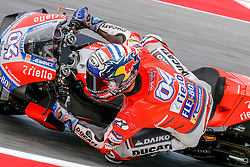 September 7, 2018 - 04 ANDREA DOVIZIOSO from Italy, Ducati Team, Ducati Desmosedici GP18, Gran Premio Octo di San Marino e della Riviera di Rimini, during the Friday FP2 at the Marco Simoncelli World Circuit for the 13th round of MotoGP World Championship, from September 7th to 9th, 2018. (Credit Image: © AFP7 via ZUMA Wire)