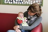 """Nederland, Herpen, 20090128...Kinderopvang 'Op de boerderij' in Herpen...""""OP DE BOERDERIJ"""" kinderopvang..is gevestigd bij een vleesveebedrijf te Herpen...kleine baby....Netherlands, Herpen, 20090128. ..Childcare on the farm in Herpen. ..""""ON THE FARM"""" childcare ..is located at a beef farm in Herpen...Little baby    .."""