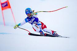 17.01.2018, Olympia delle Tofane, Cortina d Ampezzo, ITA, FIS Weltcup Ski Alpin, Abfahrt, Damen, 1. Training, im Bild Joana Haehlen (SUI) // Joana Haehlen of Switzerland in action during the 1st practice run of ladie' s downhill of the Cortina FIS Ski Alpine World Cup at the Olympia delle Tofane course in Cortina d Ampezzo, Italy on 2015/01/17. EXPA Pictures © 2018, PhotoCredit: EXPA/ Dominik Angerer