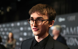 Issac Hempstead attending the Game of Thrones Premiere, held at Waterfront Hall, Belfast.
