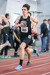 mens 800 meters, Brown, Small<br /> BU John Terrier Classic <br /> Indoor Track & Field Meet <br /> day 2