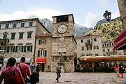 Kotor, Montenegro clock tower