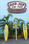 World famous Ron Jon Surf Shop in Cocoa Beach, Florida.