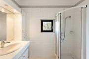 architecture, Interiors of empty apartment, bathroom view
