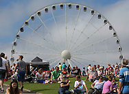 La Route des Princess. Plymouth. UK<br /> Pictures of crowds watching racing from Plymouth Hoe<br /> Credit: Lloyd Images