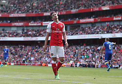 21 May 2017 London : Premier League - Arsenal v Everton :<br /> Dejection for Mesut Ozil of Arsenal.<br /> Photo: Mark Leech