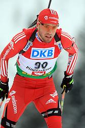 Ivan Joller (SUI) at Men 20 km Individual at E.ON Ruhrgas IBU World Cup Biathlon in Hochfilzen (replacement Pokljuka), on December 18, 2008, in Hochfilzen, Austria. (Photo by Vid Ponikvar / Sportida)