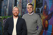 SHOT 11/10/20 4:36:24 PM - Corey Knoebel and Tyler Patrick, Attorneys with Patrick & Knoebel LLC in Denver, Colorado. (Photo by Marc Piscotty / © 2020)