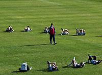 Fotball, jannuar 2003,, Brügge på treningsleir i Antalya Topkapi Palace, Tyrkia, med trener trond Sollied<br />Foto: Philippe Crochet, Digitalsport