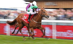 Lihou ridden by Owen Egan wins The Homeserve Handicap Stakes, during Boodles City Day at Chester Racecourse, Chester.
