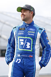 September 22, 2017 - Loudon, New Hampshire, United States of America - September 22, 2017 - Loudon, New Hampshire, USA: Ricky Stenhouse Jr (17) hangs out on pit road prior to qualifying for the ISM Connect 300 at New Hampshire Motor Speedway in Loudon, New Hampshire. (Credit Image: © Justin R. Noe Asp Inc/ASP via ZUMA Wire)