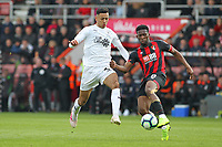 Football - 2018 / 2019 Premier League - AFC Bournemouth vs. Burnley<br /> <br /> Bournemouth's Jefferson Lerma clears from Dwight McNeil of Burnley during the Premier League match at the Vitality Stadium (Dean Court) Bournemouth  <br /> <br /> COLORSPORT/SHAUN BOGGUST