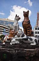 Cat Monument in Kuching, Sarawak.
