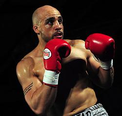 Dean Francis - Photo mandatory by-line: Dougie Allward/JMP - Tel: Mobile: 07966 386802 27/04/2013 - SPORT - FOOTBALL - City Academy Sports Centre - Bristol - Lee Haskins V Martin Ward - British bantamweight title