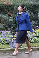 Downing Street, London, January 31 2017. International Development Secretary Priti Patel arrives at the weekly meeting of the UK cabinet.