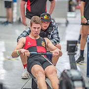 Hayden Evans MALE LIGHTWEIGHT U17 1K Race #13  12:15pm<br /> <br /> www.rowingcelebration.com Competing on Concept 2 ergometers at the 2018 NZ Indoor Rowing Championships. Avanti Drome, Cambridge,  Saturday 24 November 2018 © Copyright photo Steve McArthur / @RowingCelebration