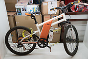 Electric bikes on sale<br /><br />Electric vehicles are everywhere on China's roads, from battery powered pedal bikes to hybrid cars, electric buses and all types of service vehicles.