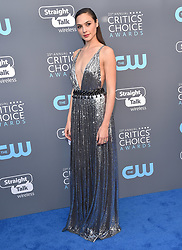Greta Gerwig at the 23rd Annual Critics' Choice Awards event at Barker Hanger on January 11, 2018 in Santa Monica, CA. © O'Connor/AFF-USA.com. 11 Jan 2018 Pictured: Gal Gadot. Photo credit: MEGA TheMegaAgency.com +1 888 505 6342