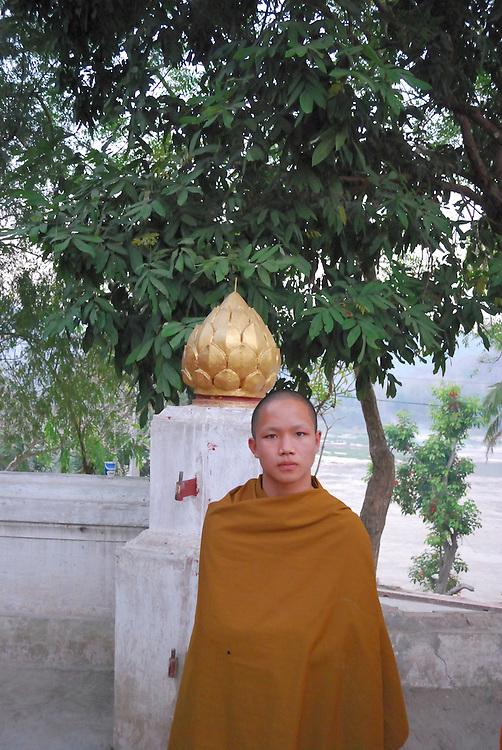 Novice monks from Luang Prabang