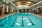 Indoor pool at Hillcrest Fitness Center at Hillcrest Retirement Community in La Verne, CA