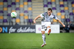 Klemen Sturm of NS Mura during football match between NS Mura and Rennes (FRA) in group stage of UEFA Europa Conference League 2021/22, on 20 of October, 2021 in Ljudski Vrt, Maribor, Slovenia. Photo by Blaž Weindorfer / Sportida