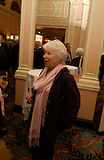 June Whitfield. The Oldie Of The Year Awards,  Simpsons in the Strand, London. 22 March 2005. ONE TIME USE ONLY - DO NOT ARCHIVE  © Copyright Photograph by Dafydd Jones 66 Stockwell Park Rd. London SW9 0DA Tel 020 7733 0108 www.dafjones.com