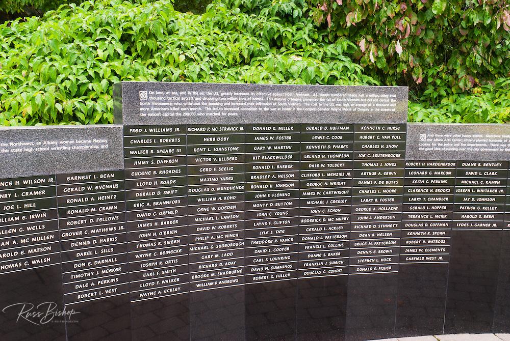 Garden of Solace (Vietnam Veterans Memorial), Washinigton Park, Portland, Oregon