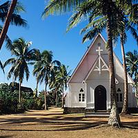 Fiji Islands, Wakaya Island, church