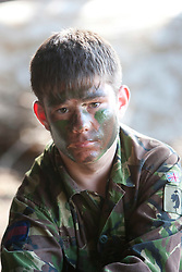 Steven Green..Exercise Guards Warrior with the Scots Guards at their Catterick base..Pic ©2010 Michael Schofield. All Rights Reserved.