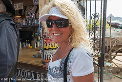 Greasewood Flats bar during the Hamster Dry Heat Run on Thursday of Arizona Bike Week 2014. USA. April 4, 2014.  Photography ©2014 Michael Lichter.