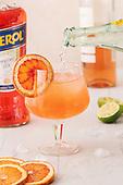 Aperol Rose Cocktail