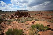 Wupatki Pueblo, Wupatki and Sunset Crater National Monuments, Arizona, USA<br />