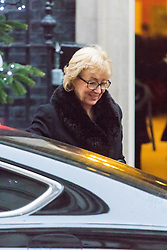 Downing Street, London, December 13th 2016. Environment, food and Rural Affairs Secretary Andrea Leadsom arrives at the weekly meeting of the cabinet at Downing Street, London.