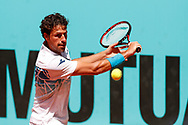 Robin Haase of Netherlands in action during the Mutua Madrid Open 2018, tennis match on May 9, 2018 played at Caja Magica in Madrid, Spain - Photo Oscar J Barroso / SpainProSportsImages / DPPI / ProSportsImages / DPPI