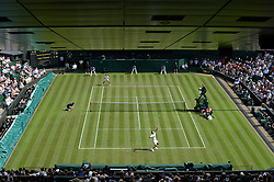 July 4, 2017 - Wimbledon, Angleterre - roger federer (Credit Image: © Panoramic via ZUMA Press)