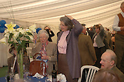 Mrs. William Grizel and Susan Harley. Ludlow Charity Race Day,  in aid of Action Medical Research. Ludlow racecourse. 24 march 2005. ONE TIME USE ONLY - DO NOT ARCHIVE  © Copyright Photograph by Dafydd Jones 66 Stockwell Park Rd. London SW9 0DA Tel 020 7733 0108 www.dafjones.com
