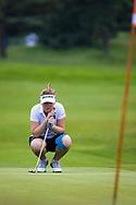 28-05-2016 Foto's van de kruisfinales in de hoofdklasse van de NGF Competitie 2016.<br /> Foto: Noëlle Beijer - Dames Noordwijkse 1. Genomen tijdens Finaleweekend NGF Hoofdklasse 2016 bij Goyer Golf & Country Club in Eemnes, Nederland.