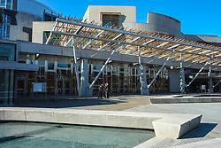 The Scottish Parliament, Holyrood, Edinburgh, Scotland<br /> <br /> (c) Andrew Wilson   Edinburgh Elite media