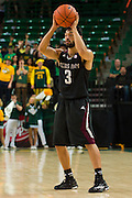 WACO, TX - DECEMBER 9: Alex Robinson #3 of the Texas A&M Aggies brings the ball up court against the Baylor Bears on December 9, 2014 at the Ferrell Center in Waco, Texas.  (Photo by Cooper Neill/Getty Images) *** Local Caption *** Alex Robinson