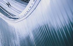 31.12.2019, Olympiaschanze, Garmisch Partenkirchen, GER, FIS Weltcup Skisprung, Vierschanzentournee, Garmisch Partenkirchen, Qualifikation, im Bild Marius Lindvik (NOR) // Marius Lindvik of Norway during his qualification Jump for the Four Hills Tournament of FIS Ski Jumping World Cup at the Olympiaschanze in Garmisch Partenkirchen, Germany on 2019/12/31. EXPA Pictures © 2019, PhotoCredit: EXPA/ JFK