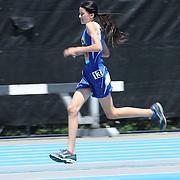 Lauryn Heskin, USA, winning the one mile Women Youth Girls competition  at the Diamond League Adidas Grand Prix at Icahn Stadium, Randall's Island, Manhattan, New York, USA. 13th June 2015. Photo Tim Clayton