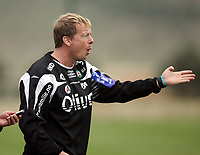Fotball , 6. mars 2007 , La Manga , Bryne - Sogndal 2-1<br /> Magnus Johansson , Bryne
