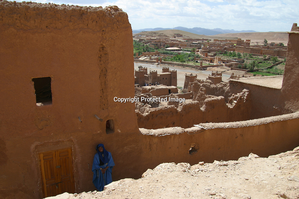Aid benhaddou is a tourist attraction in Morocco