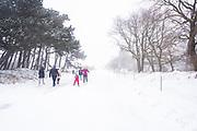 Langlaufen op Scheveningen, Den Haag